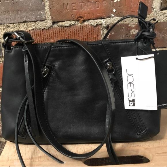 Joe's Jeans Handbags - Joes Jeans Black Crossbody Purse